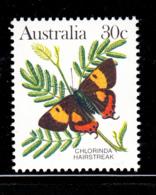 Australia 1983 MNH Scott #875A 30c Chlorinda Hairstreak Butterfly - 1980-89 Elizabeth II