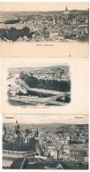 Lot De 3 CPA : NAMUR  Panorama Côté Sambre, Ville Et Cathédrale - Namur