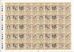 Australia 1983 MNH Scott #881 The Sentimental Bloke By CJ Dennis Full Sheet Of 20 Strips - 1980-89 Elizabeth II