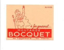 BUVARD MOUTARDE BOCQUET - Blotters