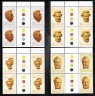 Australia 1983 MNH Scott #885-#888 Inland Explorers Set Of 4 Gutter Blocks Of 4 - 1980-89 Elizabeth II