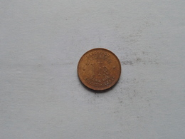 1944 - 1 Franc / KM 26 ( Uncleaned Coin / For Grade, Please See Photo ) ! - 1934-1945: Leopoldo III