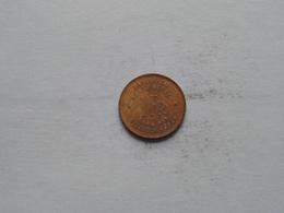 1944 - 1 Franc / KM 26 ( Uncleaned Coin / For Grade, Please See Photo ) ! - Congo (Belge) & Ruanda-Urundi