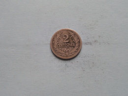 1901 A - 2 Centésimos / KM 20 ( Uncleaned Coin / For Grade, Please See Photo ) ! - Uruguay