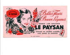 BUVARD GRAINES LE PAYSAN - Blotters