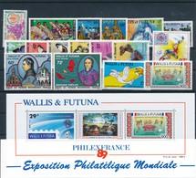 CD-315: WALLIS ET FUTUNA : Lot ** Avec N°172-221/223-273-302-353/358-359-PA 82/83-153-166-BF 4 - Wallis Und Futuna