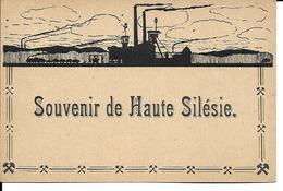 """Pologne - Haute-Silésie - """"Souvenir De Haute-Silésie"""" - Pologne"""