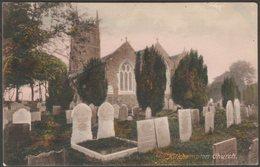 Kilkhampton Church, Cornwall, 1918 - Frith's Postcard - England