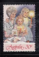 Australia 1987 MNH Scott #1044a 30c Woman, 2 Girls Christmas Carolers - 1980-89 Elizabeth II