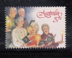 Australia 1987 MNH Scott #1045 37c 2 Men, 3 Women, Boy Christmas Carolers - 1980-89 Elizabeth II