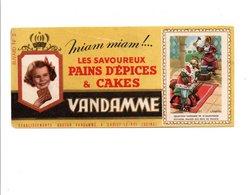 BUVARD PAINS D'EPICES ET CAKES VANDAMME - DAGOBERT - Non Classificati
