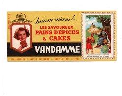 BUVARD PAINS D'EPICES ET CAKES VANDAMME - SAINT LOUIS - Blotters