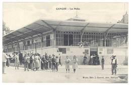 Cpa Ganges - Les Halles - Ganges