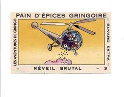 BUVARD PAINS D'EPICES GRINGOIRE - HELICOPTERE - Blotters