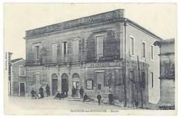Cpa Saint Geniès Des Mourgues - Mairie - France