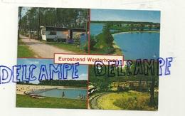 "PAys-Bas. Euro Rekreatie Centrum B.V. ""Eurostrand"" Westerhoven. Carte Mosaïque (multivues). Camping, Locomotive, ... - Pays-Bas"