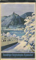 Reichsbahn-Kalender 1937 - Vollständiges Exemplar - Gebrauchsspuren - Karton Auf Der Rückseite Fehlt - Angestaubt - Kalender