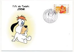Enveloppe - Fête Du Timbre - AIX-EN-PROVENCE - 1/03/2008 - FDC