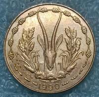 Western Africa (BCEAO) 5 Francs, 1990 -4211 - Autres – Afrique