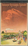 Reichsbahn-Kalender 1935 - Vollständiges Exemplar - Herausgegeben Vom Pressedienst Der Deutschen Reichsbahn - Konkordia - Kalender