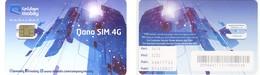 SAUDI ARABIA / ARABIE SAOUDITE___GSM SIM Carte Avec Puce Original/mint___mobily___Nano SIM 4G - Arabie Saoudite