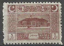 Turkey - 1922  Parliament House 2k MH *     Mi 791  Sc AS102 - Unused Stamps