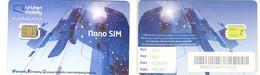 SAUDI ARABIA / ARABIE SAOUDITE___GSM SIM Carte Avec Puce Original/mint___mobily___Nano SIM Chip Reverse Yellow - Arabie Saoudite