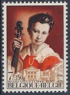 Belgie Belgique Belgium 1974 Mi 1762 YT 1703 ** Henry Vieuxtemps (1820-1881) Violinist, Composer / Komponist - Verviers - Muziek