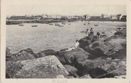 Br - Cpsm Petit Format MELON PORSPODER (Finistère) - La Plage - Autres Communes