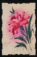 CELLULOID - HAND GESCHILDERD  ANJER - Flowers