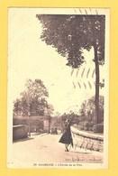 """Carte Postale Noir Et Blanc """" L'entrée De La Ville """" à MAUBEUGE - Maubeuge"""