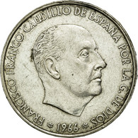 Monnaie, Espagne, Caudillo And Regent, 100 Pesetas, 1966, TTB, Argent, KM:797 - [ 5] 1949-… : Royaume