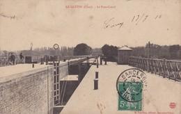 18 / LE GUETIN / LE PONT CANAL / PAS COURANTE / CUVETTE VIDE - Frankrijk