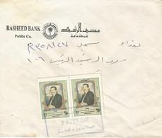 Iraq 2001 Baghdad President Saddam Hussein Domestic Registered Cover - Iraq