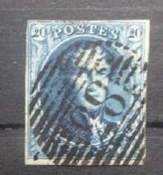 BELGIE  1849   Nr. 4   P 83  Mons    Gerand     CW  70,00 - 1849-1850 Medaillen (3/5)