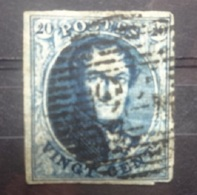 BELGIE  1849   Nr. 4   P 24      Gerand     CW  70,00 - 1849-1850 Médaillons (3/5)