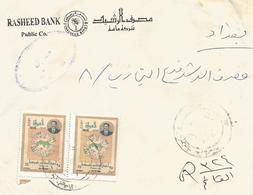 Iraq 2002 Ramal President Saddam Hussein Domestic Registered Cover - Irak