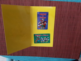 2 Phonecards Disney New With Folder Only 1000 Made Very Rare - Indonesien