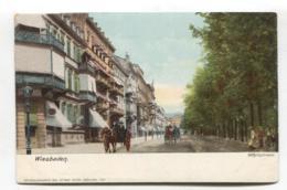 Wiesbaden - Wilhelmstrasse - Early Postcard - Wiesbaden