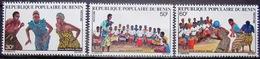 BENIN                N° 494/496                 NEUF** - Bénin – Dahomey (1960-...)
