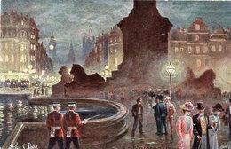 C. PAYNE - Traalear Square  - London (109014) - Peintures & Tableaux