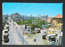 Lebanon Postcard With Stamps To Singapore - Lebanon