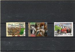 ITALIE   3 Timbres 0,85 €  0,60 € Et 2,58 €   2001,2010 Et 2011     Oblitérés - 6. 1946-.. Repubblica