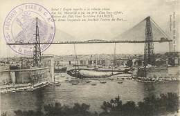 D-18-1391 : CARTE AVEC CACHET FRANCHISE MILITAIRE 85° SECTION 1/2 FIXE DCA CARTE DE MARSEILLE - Guerre De 1914-18