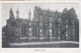 United Kingdom UK 1903 Roslin Chapel, Scotland - Midlothian/ Edinburgh
