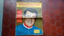 Tour De France 1955 Miroir Sprint Cyclisme Jeu De L'oie  Illustré Par Pellos - Sport