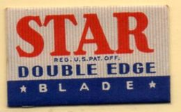 Rasage. Razor Blade. Lame De Rasoir. Lame STAR. Made In U.S.A - Lames De Rasoir