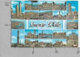 CARTOLINA VG ITALIA - SOUVENIR D'ITALIE - Vedutine - Multivue - 10 X 15 - ANN. 1968 PARCHI NAZIONALI - ABRUZZO - Sin Clasificación