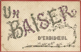 CPA Belgique 1906 - Un Baiser D' Erbisoeul, Jurbise - Jurbise
