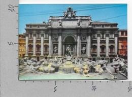 CARTOLINA VG ITALIA - ROMA - Fontana Di Trevi - 10 X 15 - ANN. 1974 - Fontana Di Trevi